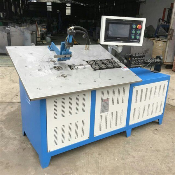 Hot koop automatische 3d staaldraad vormen machine cnc 2d draad buigmachine prijs