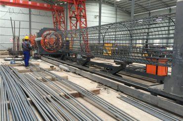 beste prijs gelast gaas roll machine, versterkende kooi naad lasser diameter 500-2000mm