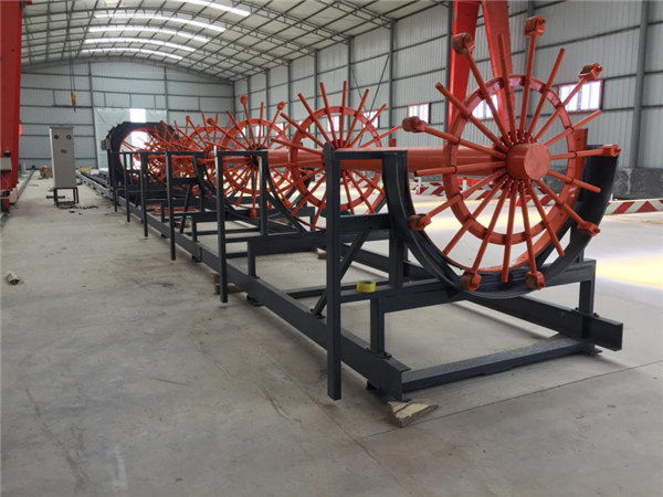 CNC versterking stalen Rebar kooi lassen Machine maken