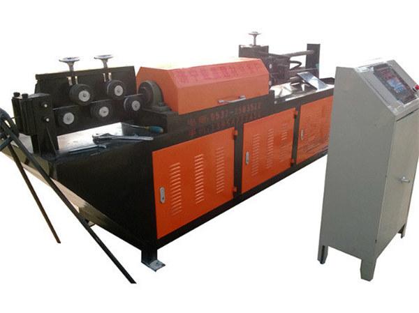 automatische hydraulische draadricht- en snijmachine